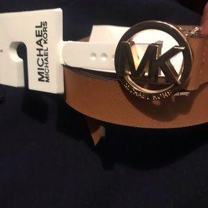 Michael Michael Kors women luggage/natural belt
